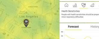 This real-time pollution map will enlighten you on your city