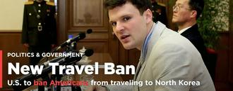 US bans travel for Americans to NKorea after Warmbier death