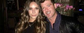 Robin Thicke and Girlfriend April Love Geary Expecting First Child Together