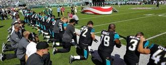 Trump chides NFL for not forcing players to stand for anthem