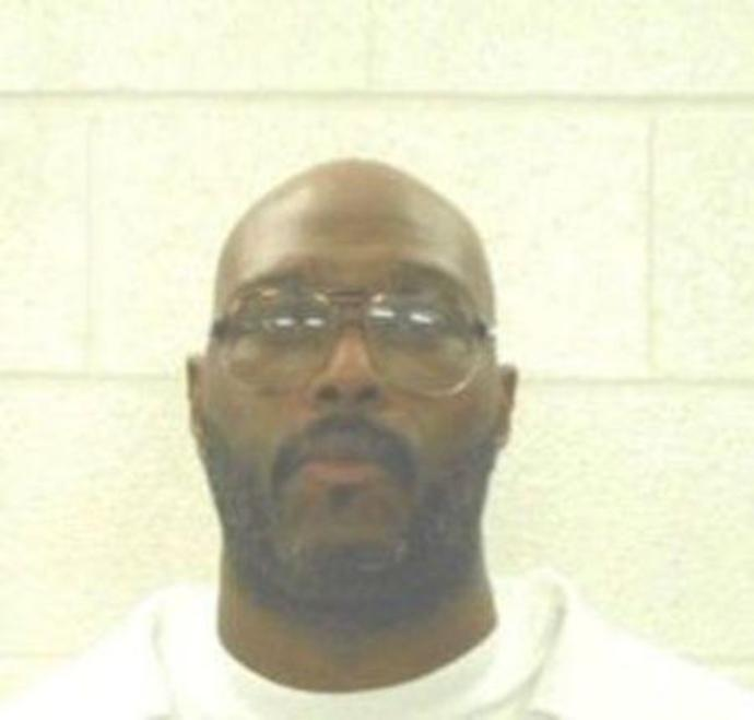 Handout photo of inmate Stacey Johnson scheduled to be executed by lethal injection in Arkansas