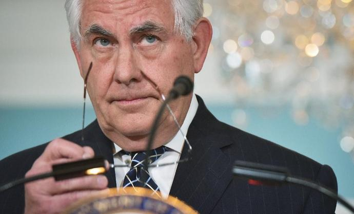 US Secretary of State Rex Tillerson charged that the Iran nuclear accord would only delay its development of a weapon that could threaten its region and the world