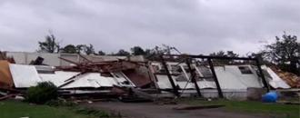 Tornadoes leave trail of destruction in East Texas