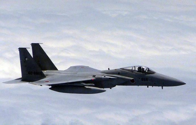 Japan dispatched four planes, including two F-15 fighters and an airborne warning and control system (AWACS) plane to waters surrounding the islets, Japan