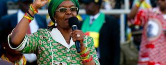 Grace Mugabe absent from S.Africa summit as assault claim lingers