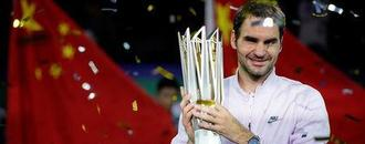 Federer eyes ATP Finals title, top ranking after Shanghai triumph