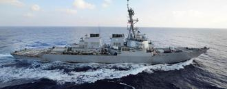 US Navy fires warning flare at Iran vessel in Persian Gulf