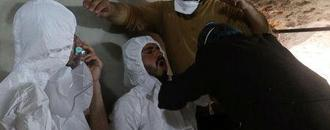 French intelligence says Assad forces carried out sarin attack