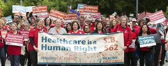 Plan to give health care to every Californian moves forward